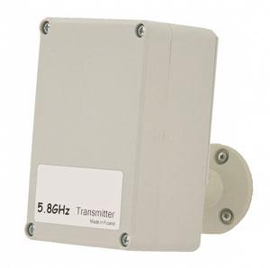 Funksender und Empfänger für Überwachungskamera
