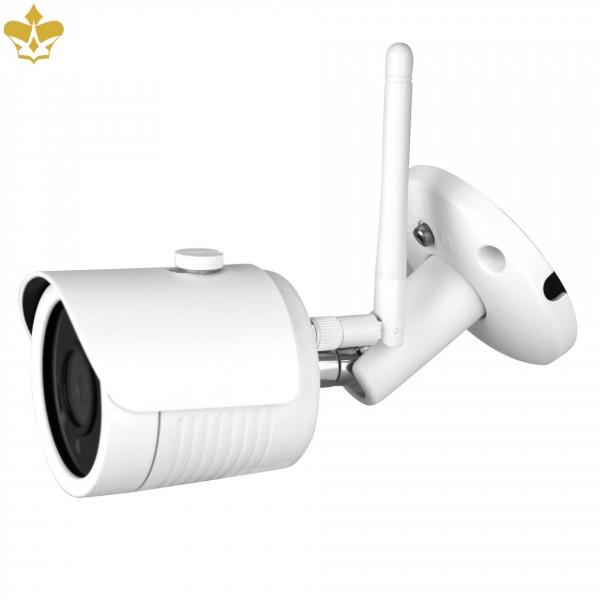 Outdoor WLAN Überwachungskamera mit 4 MP Auflösung und weltweitem Zugriff per PC, Smartphone, Tablet