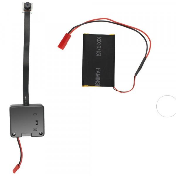 Tarnbare Full HD Minikamera 1080p kleine Überwachungskamera mit Bewegungserkennung oder Endlosaufnah