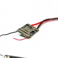 Mini GSM Audiosender mit Geräuschaktivierung und Positionsermittlung