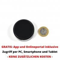 Kleiner GPS Tracker mit zuverlässigem Echtzeit-Tracking und Alarm + Gratis Tracking App