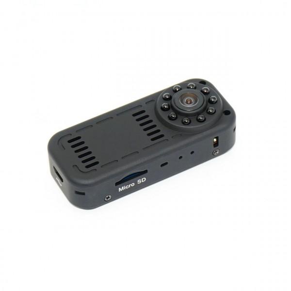 Mobile Full HD Minikamera mit Weitwinkel und Nachtsicht zur Spionage