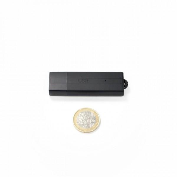 USB Stick Audiorecorder mit Zeit- und Datumsstempel mit 25 Tage Betriebszeit zur Langzeitüberwachung