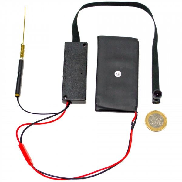 Mini WLAN Kamera mit Akku und Weitwinkel Objektiv und Bewegungserkennung