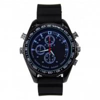 Full HD Kamera Armbanduhr Spionuhr mit Mikrofon und Nachtsicht in modernem Design