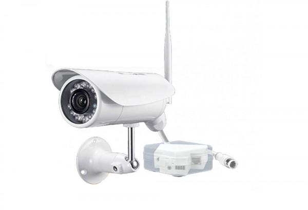 4G LTE Überwachungskamera als IP Kamera mit weltweitem Zugriff per PC, Smartphone und Tablet