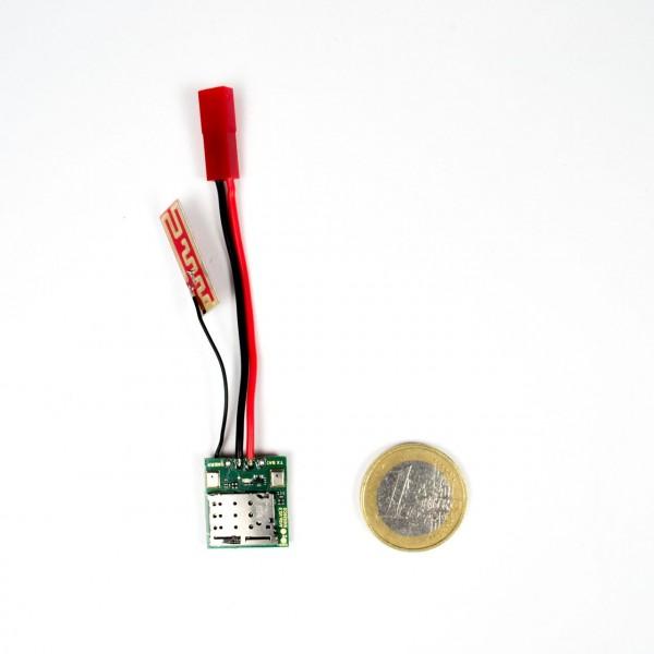 Extrem kleines GSM Abhörgerät zum Selbstbau mit verschiedenen Hochleistungsakkus