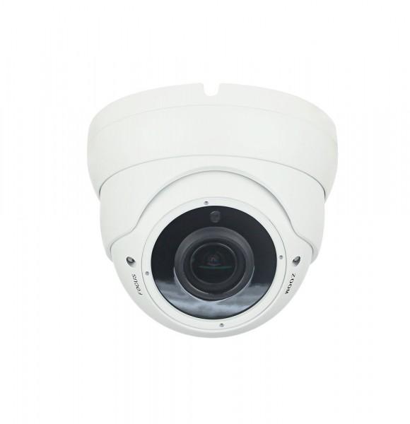 4MP Outdoor Domekamera mit Nachtsicht und Zoom als wetterfeste Dome-Überwachungskamera