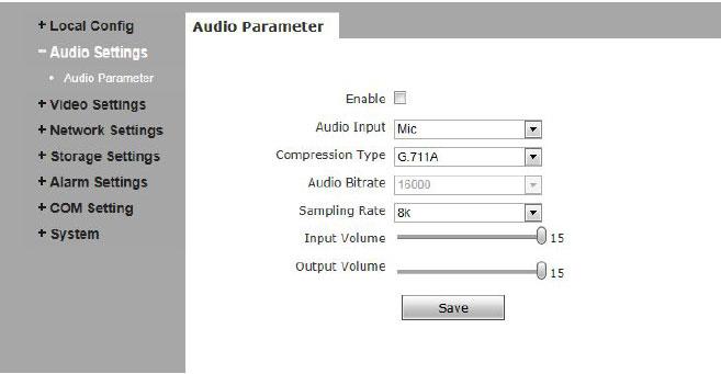 audio-parameter