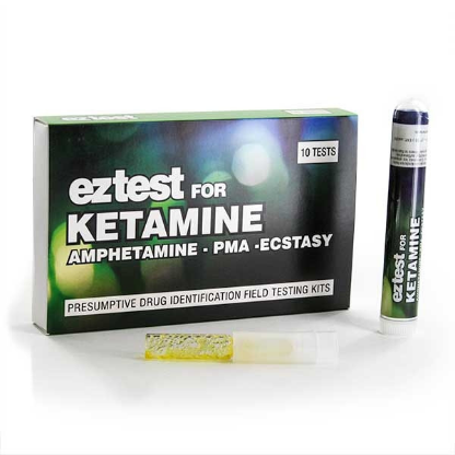 EZ Test Kit für Ketamin um das Vorhandensein von Ketamin oder PMA anzuzeigen