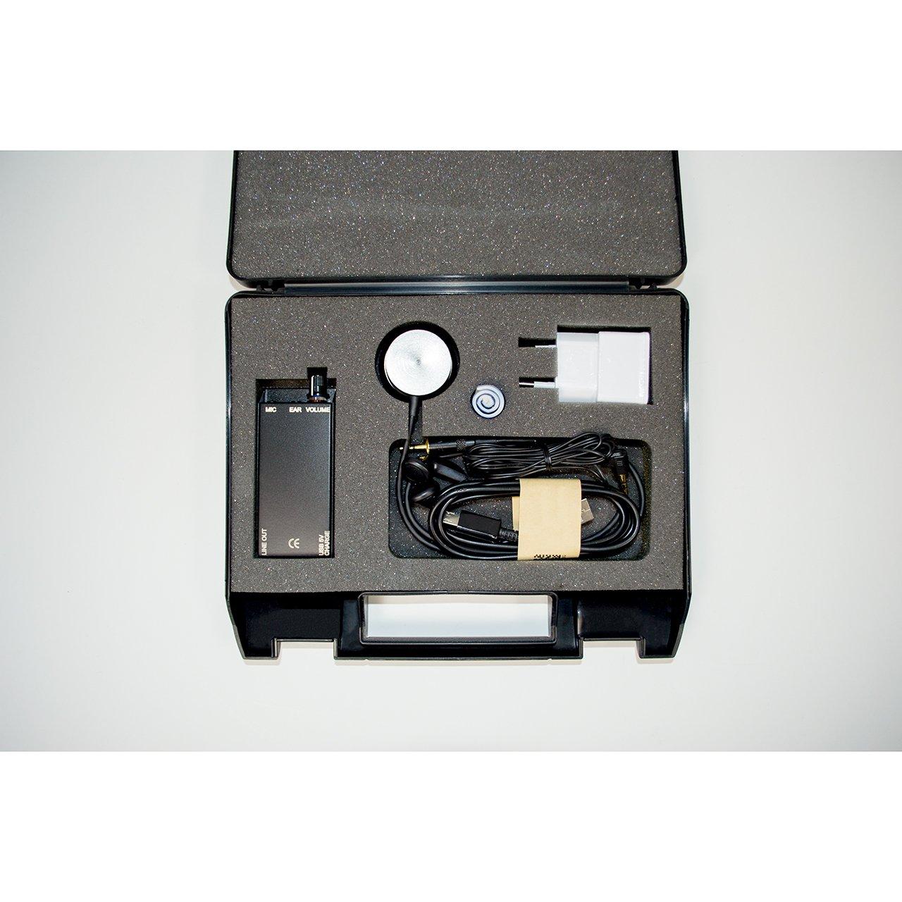 Elektronisches Stethoskop mit Verstärker