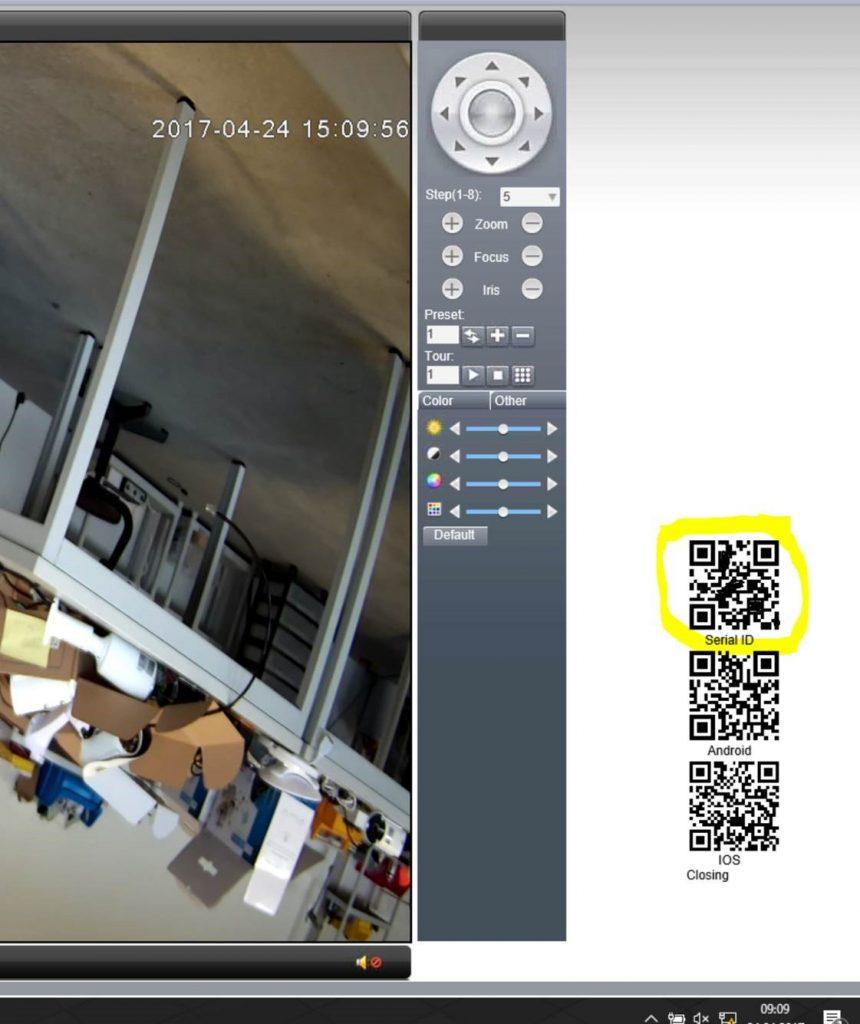 App Kamera scannen