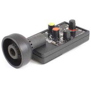 Professionelles Richtmikrofon / Parabolmikrofon mit 3 Band Equalizer