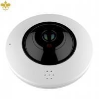 4K UHD 360°-Überwachungskamera mit POE, Nachtsicht, MicroSD und Panorama-Blickwinkel