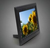 Getarnte Kamera im Bilderrahmen als Spionkamera mit Endlosaufzeichnung und PIR-Bewegungserkennung