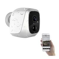 Kabellose IP Außenkamera mit Nachtsicht und hoher Betriebszeit