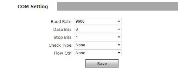 com-setting
