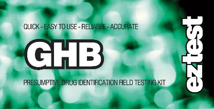 EZ Test Kit für GHB testet auf das Vorhandensein von GHB
