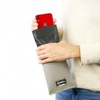 Faraday Bag auch  für große Smartphone Wetterfest, wasserdicht, signalfest Sicherheitstasche Hülle
