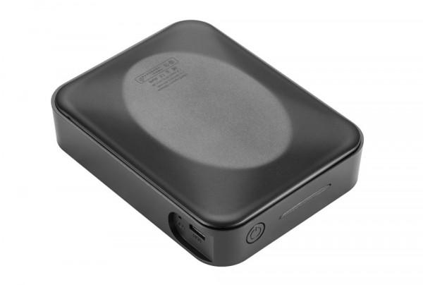 Full HD Powerbank Spycam mit Weitwinkel-Objektiv als getarnte Videoüberwachung mit Aufnahme