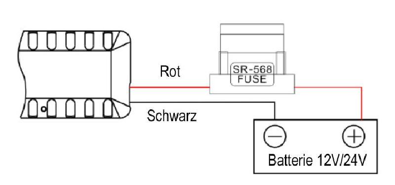 Verbindung vom GPS Tracker zu KFZ Batterie
