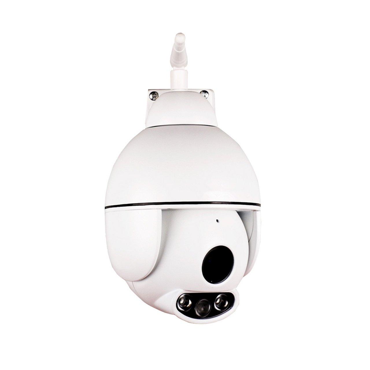 Outdoor Full HD WLAN PTZ Überwachungskamera mit Infrarot-Nachtsicht