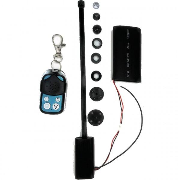 Full HD Spycam zum Einbau mit Tarnung als Schraube und Knopf und hoher Akkulaufzeit