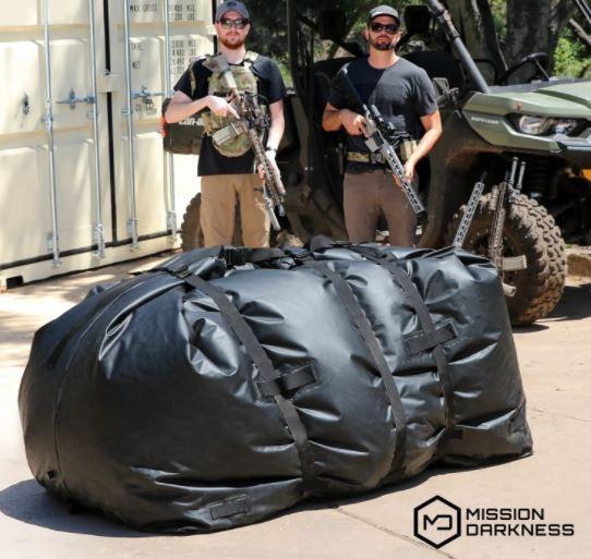 Größter Faraday Bag 1.060 Liter Wetterfest, wasserdicht, signalfest, EMP Schutz, Katastrophenschutz