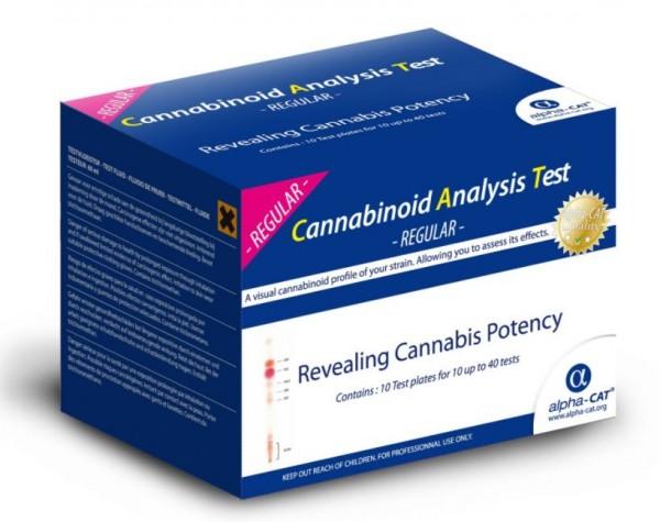 Alpha Cat Test Kit, Cannabinoid-Tests und Potenzkontrollen in Cannabis