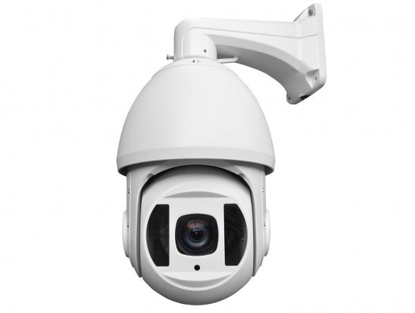 5 MP Outdoor Überwachungskamera mit 18-fach optischem Zoom und extrem hoher Nachtsicht-Reichweite